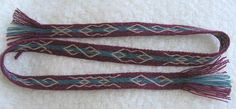 wool and linen tablet weaving based on Mammen find. By altikh