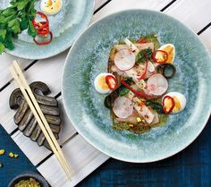 From @pbillustrated Tag your friends and follow us for more... Craving a unique ? Head up to @ianstropicalgrill in Stuart for a taste of chef Eric Grutka's playful cuisine including this delectable Florida fluke sashimi. Pick up our May issue to learn more about Ian's stellar late-night eats.  by @ashley_meyer_design for PBI. . . .