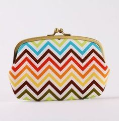 chevron clutch available from cctopurse: http://www.etsy.com/shop/octopurse (this one is for you @Cameron Mora)