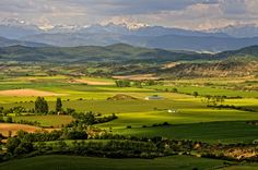 The Pyrenees from Huesca