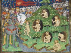 Poems and Romances (the 'Talbot Shrewsbury book') 1444-1445 Royal MS 15 E VI Folio 17v