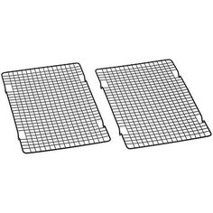2-tier nonstick cooling racks for cookies, pies, and cakes Durable chrome construction with narrow grid pattern 4 stable feet keeps pastries raised above the counter  #BakerSSecret, #Nonstick