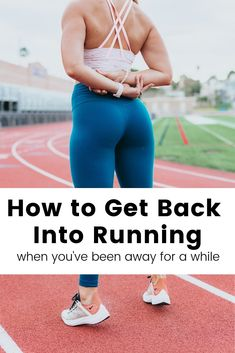 How to get back into running when you've been away for a while. Some tips and ideas to get you back into running shape! Running Routine, Running On Treadmill, Running Workouts, Running Tips, Running Training, Easy Workouts, Yoga Workouts, Workout Routines, Running Pose