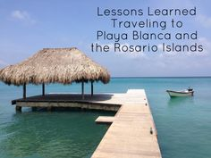 Tips for traveling to Playa Blanca and the Rosario Islands, including where to stay, great activities and tours, where to eat, day trips and more | Optimism Rampage  Playa Blanca and the Rosario Islands, Colombia