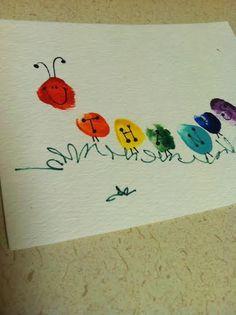 Teacher's Day_Finger print Thank You card … More