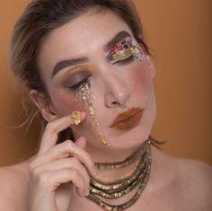 gustav klimt inspired makeup