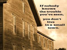 Image result for small town quotes