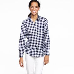 Factory perfect shirt in plaid: I need u in my closet like yesterday!
