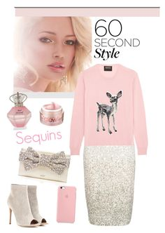 """""""contest"""" by veronica7777 ❤ liked on Polyvore featuring Coast, Smashbox, Markus Lupfer, Kate Spade, Gianvito Rossi and Bliss"""