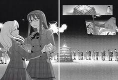Sumika x Ushio - Sasameki Koto Christa Attack On Titan, Yuri, Sasameki Koto, Otaku, Training, Manga, Girls, Little Girls, Sleeve