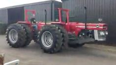 @farm_machinery Double #Masseyferguson 185 Truck And Tractor Pull, Tractor Pulling, Antique Tractors, Vintage Tractors, Logging Equipment, Heavy Equipment, Agriculture Tractor, Farming, Big Tractors