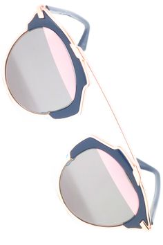 a5f81647df4 Dior So Real U5WZJ Blue with Rose Gold Sunglasses