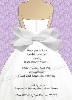 DIY Printable Bridal Shower Invitation by SweetMelissaCreation, $13.00