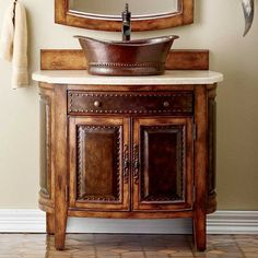Rustico Sink Chest | King Ranch