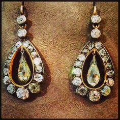 Diamond Earrings Bohemian Style