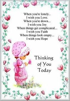 Thinking of you on Pinterest | Miss You, Thinking Of You ...