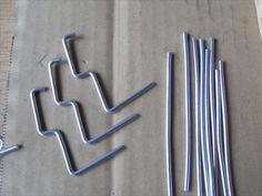 有孔ボード用 スネークフックの作り方 : M55から