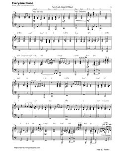 new york state of mind piano solo pdf