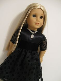 American Girl Doll Holiday Collection Black by 123MULBERRYSTREET