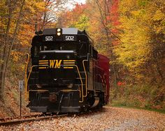Merlavage Images: Western Maryland Scenic Railroad - fall colors