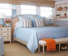 Beach Bedroom Ideas Create a beautiful beach bedroom by mixing casual furnishings and coastal colors with beach-combed treasures and accessories that tell a seaworthy tale.