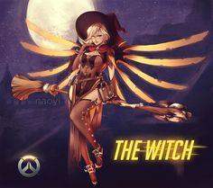 ArtStation - Witch Mercy, Anna Schreter