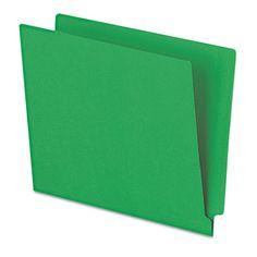Pendaflex H110DGR Colored End Tab Folders with Reinforced Double-Ply Straight Cut Tabs #H110DGR #Pendaflex #TAAFileFolders  https://www.officecrave.com/pendaflex-h110dgr.html