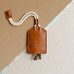 keychain key fob key ring by HANDWERS - Phone Grip Ring - Ideas of Phone Grip Ring - Leather keychain key holder. keychain key fob key ring by HANDWERS Leather Key Holder, Leather Key Case, Leather Keyring, Leather Gifts, Leather Tooling, Leather Craft, Leather Wallet, Leather Accessories, Leather Jewelry