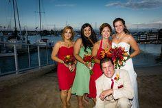groom and ladies