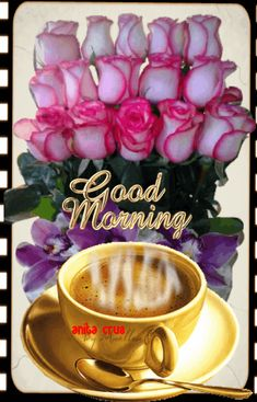 Good Morning Coffee Animation Pictures, Photos, and Images for Facebook, Tumblr, Pinterest, and Twitter