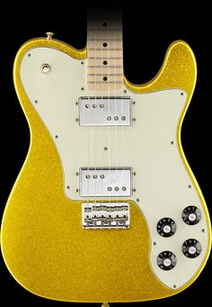 Fender Special Edition FSR Classic Series '72 Telecaster Deluxe Electric Guitar Vegas Gold