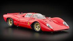 CMC 1/18 1969 Ferrari 312P Berlinetta Red