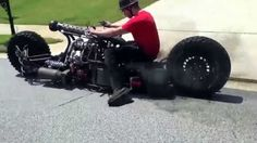 AWESOME!!! AWD Hydrostatic Diesel Motorcycle