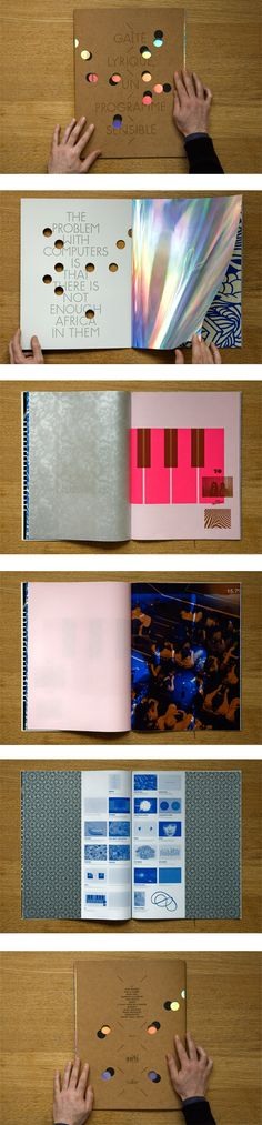 Helmo is a graphic design studio based in France, comprised of design duo Thomas… Helmo is a graphic design studio based in France, comprised of design duo Thomas Couderc and Clément Vauchez. Booklet Design, Book Design Layout, Print Layout, Book Cover Design, Brochure Design, Catalog Design, Publication Design, Graphic Design Studios, Branding