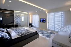 Modern Bedroom False Ceiling Designs 500x332 Modern Bedroom False Ceiling Designs