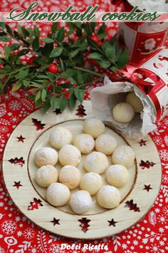 Snowball cookies #biscottidinatale #xmascookies