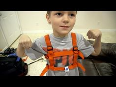 Autism Harness - YouTube