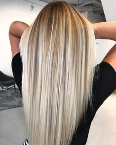 Hot Shot Warm Balayage Finalists 2019 - Behindthechair com Ombre Hair Color, Hair Color Balayage, Hair Highlights, Dirty Blonde Hair With Highlights, Blond Hair Colors, Highlighted Blonde Hair, Haircolor, Blonde Balayage Highlights, Cute Hair Colors