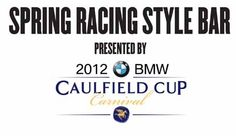 Get spring racing ready with the help of expert milliners, stylists and beauty consultants at the Spring Racing Style Bar presented by BMW Caulfield Cup 2012 in your own free one on one styling session at Chadstone - The Fashion Capital Caulfield Cup, Spring Racing, Beauty Consultant, The Help, Stylists, Bmw, Free, Style, Fashion
