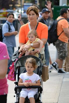 Roger Federer's Wife Mirka Vavrinec Steps Out With Her Daugthers