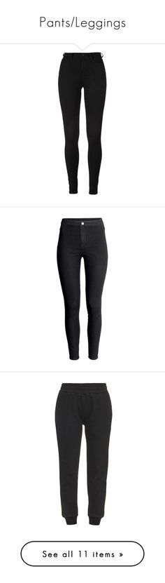 """Pants/Leggings"" by cmmxo ❤ liked on Polyvore featuring jeans, pants, bottoms, pantalones, highwaist jeans, high-waisted jeans, high waisted jeans, high rise jeans, black and h&m"