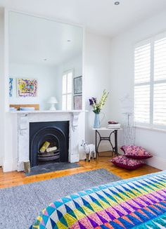 South Melbourne Family Home eclectic-bedroom