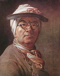 Jean Simeon Chardin self portrait  1775