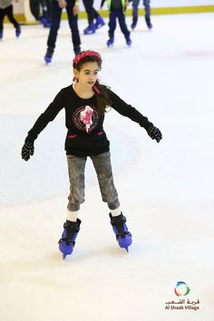 Skate with us at Sharjah's largest ice Skating rink.