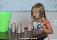 Gross Motor Alphabet Game for Preschool