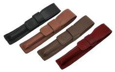 Amazon.com: Rosetta Leather Single Slot Pen Case, Dark Red: Office Products