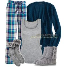 """""""Pajama Party"""" by casuality on Polyvore"""
