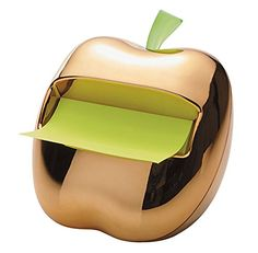 Post-It Gold Apple Pop-Up Note Dispenser for 3 x 3-Inch N...