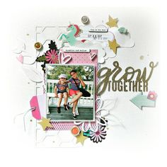 Grow together - American Crafts - Glitter Girl Collection