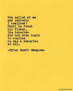 Typewriter Series #434 by Tyler Knott Gregson